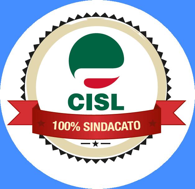 Coccarda logo Cisl 100 Sindacato